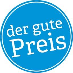 """Logo des Nachhaltigkeitspreises """"Der gute Preis"""""""